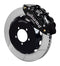 Wilwood 140-12874 Forged Narrow Superlite 6R Big Brake Front Brake Kit (Hat) - 1999-2017 Subaru WRX w/Lines on Bleeding Tarmac