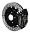 Wilwood 140-9507-D Dynapro Radial Rear Brake Kit For OE Parking Brake-  Drilled - Nissan 350Z / 370Z / G35 on Bleeding Tarmac