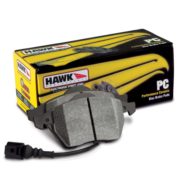 Hawk HB889Z.550 - Performance Ceramic Front Brake Pads - 16-18 Ford Focus ST on Bleeding Tarmac
