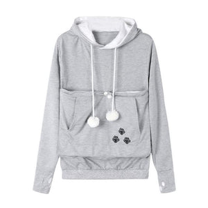 Cat Lover Long Sleeve Hoodie Sweatshirt
