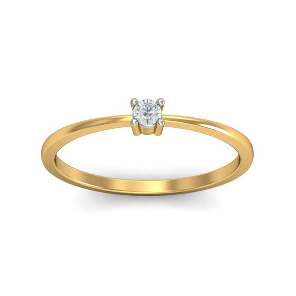 Mystic Solitaire Ring