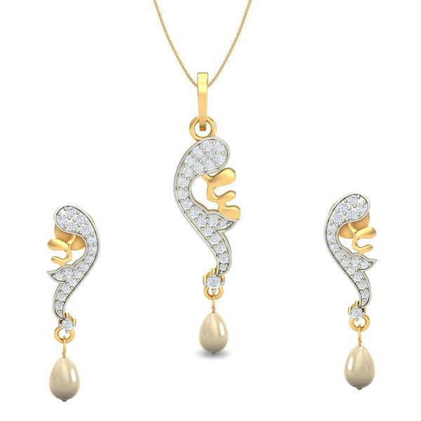 Dew Drops Pendant Set