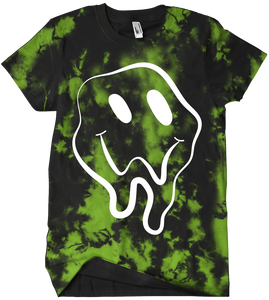 Look Out Tee - Green Crystal Wash