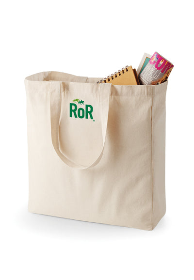 RoR Canvas Shopper Bag