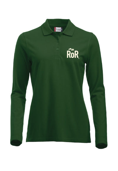 RoR Long Sleeve Polo Shirt
