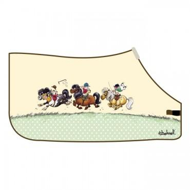 Thelwell - 'Jockeys' Fleece Rug