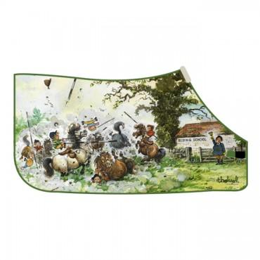 Thelwell - 'Playtime is Over' Fleece Rug