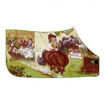 Thelwell - 'Carrot Raider' Fleece Rug