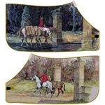 Daniel Crane - 'Into Battle / Duties Done' Fleece Rug