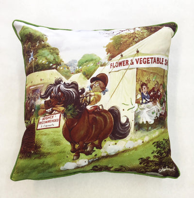 Thelwell 'Carrot Raider' Cushion