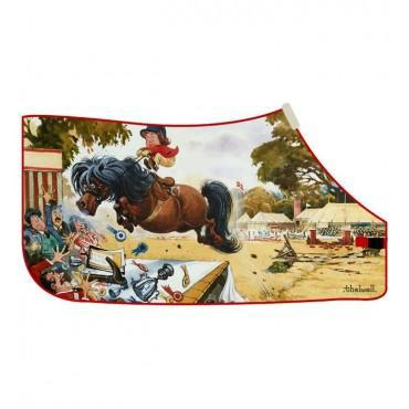 Thelwell - 'Judges Table' Fleece Rug