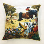 Thelwell 'Judges Table' Cushion