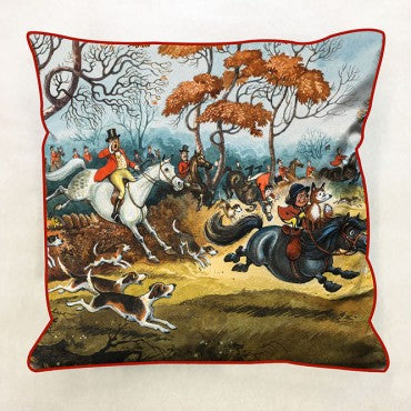 Thelwell 'Thelwell Hunting' Cushion