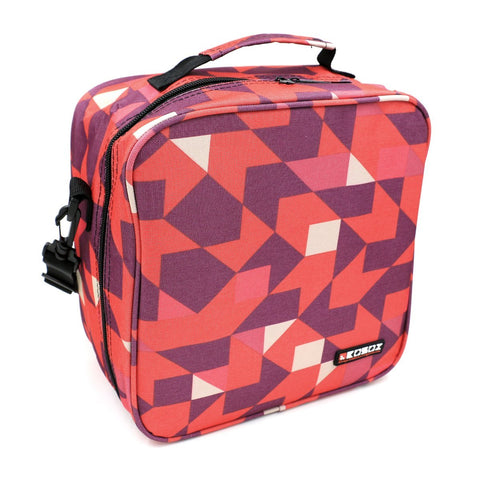 Square Insulated Lunch bag (Rose Red) #KT001