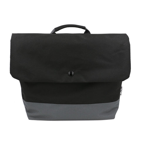 Thermal Insulation Shoulder Lunch Bag (Black) #KS001
