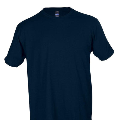 Tultex 202 100% Cotton Adult Navy / X-Small Blank Apparel