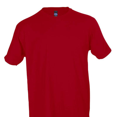Tultex 202 100% Cotton Adult Red / X-Small Blank Apparel