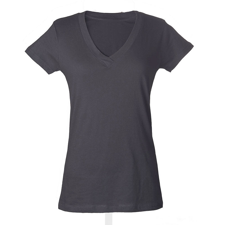 Tultex 214 - Ladies' Slim Fit Fine Jersey V-Neck
