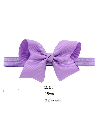 "4"" Fluffy Bow Headband"