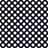 Black with White Large Dots - HTV, Glitter HTV or Glossy Adhesive Vinyl - $2.95-$9.50
