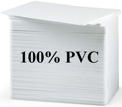 10-Pack PVC Plastic Cards