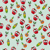 Vegetable Faces - HTV, Glitter HTV or Glossy Adhesive Vinyl - $2.95-$9.50
