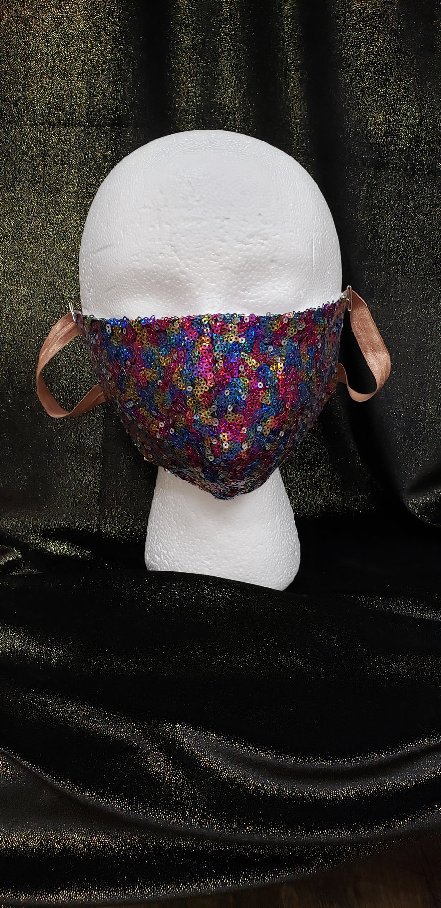 Sequin Fashion Face Mask