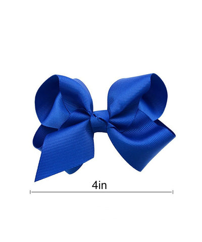 "4"" Fluffy Bow with Clip-1612"