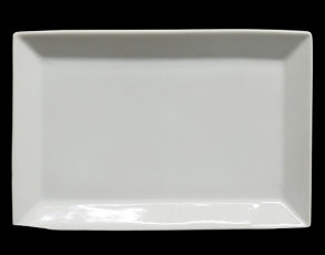 Ceramic Rectangle Tray 8""
