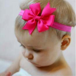 "3"" Pinwheel Bow Headband-1567"