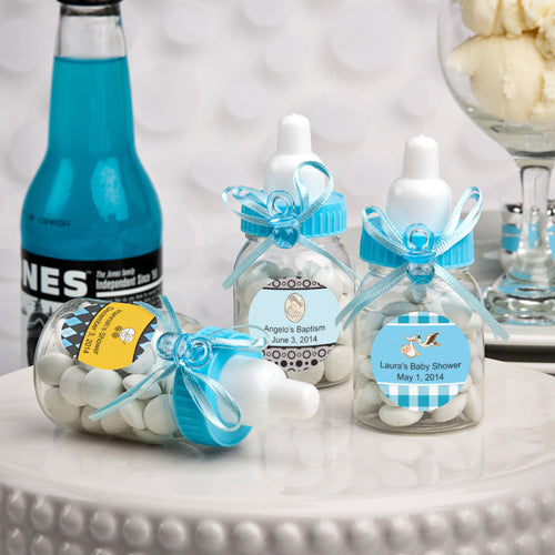 Small Plastic Baby Bottle Favor - ON SALE!!!