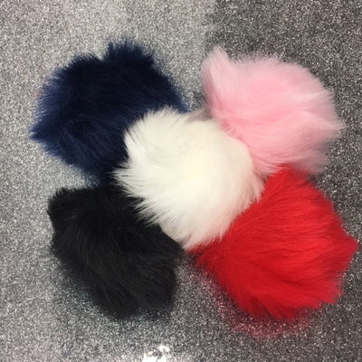 Faux Fur Puffs