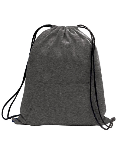 Drawstring Bag-Sweatshirt
