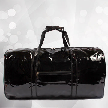 Duffel Bag-Black Patent