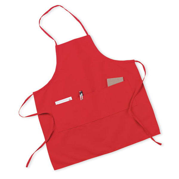 Long Three Pocket Apron