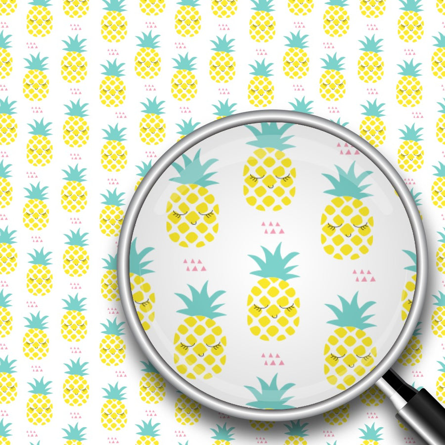 Sleeping Pineapples Print