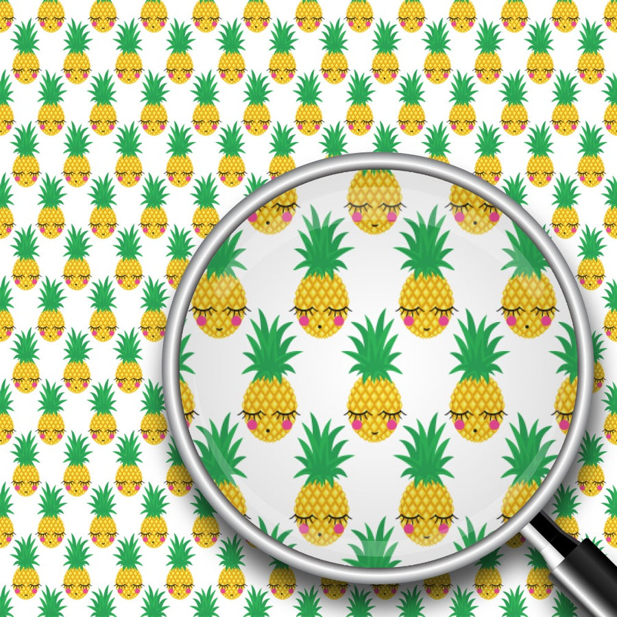 Sleeping Pineapples Print 2