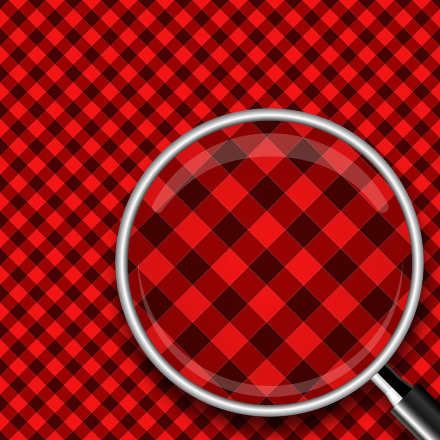 Diagonal Buffalo Plaid Print