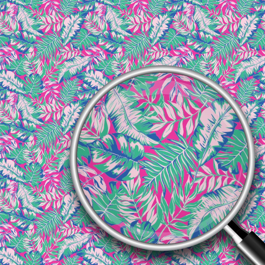 Colorful Palm Leaves Print 2