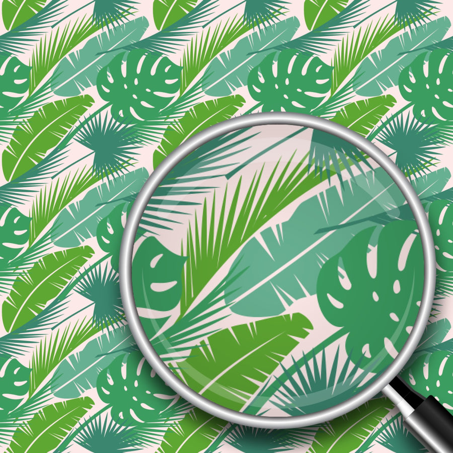 Palm Leaves Print 2