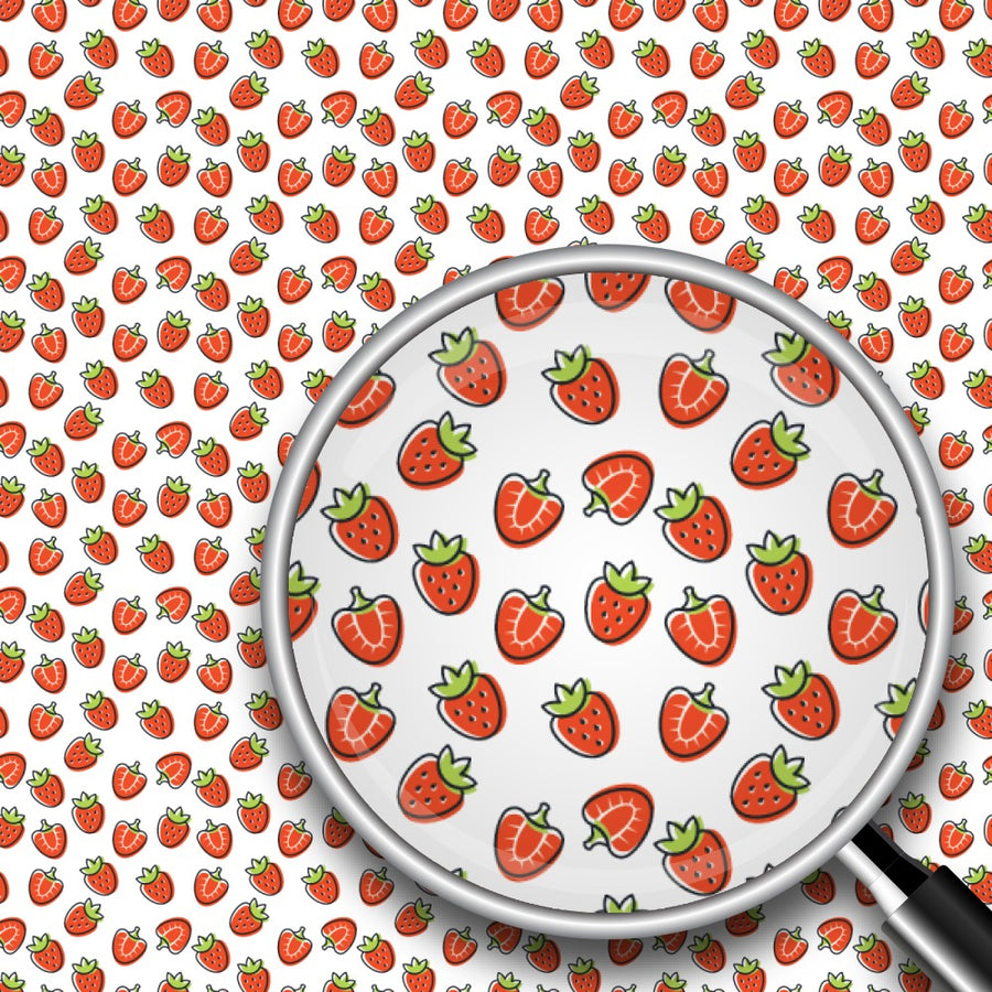 Strawberries Print 2