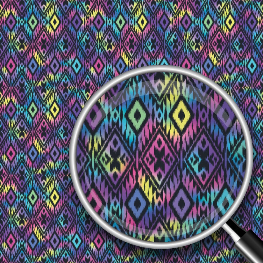 Colorful Ikat Print 2