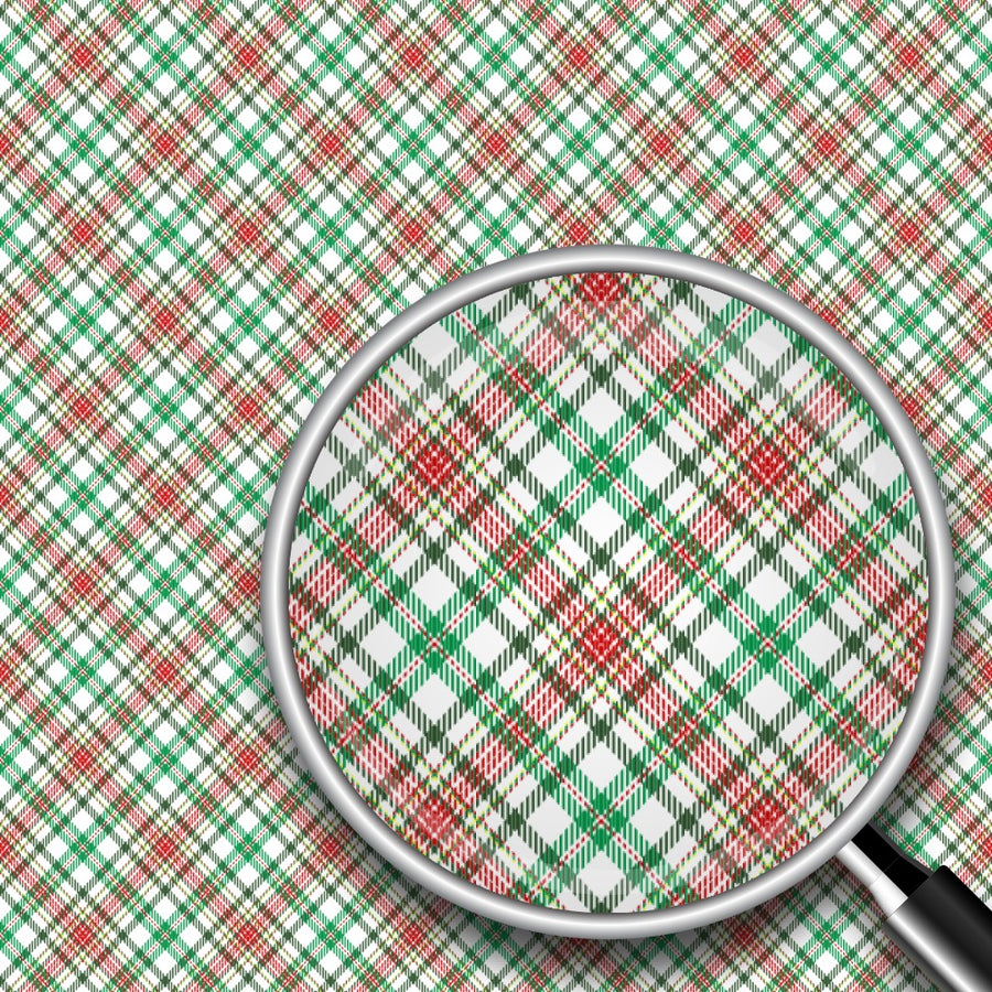 Diagonal Plaid Print 2