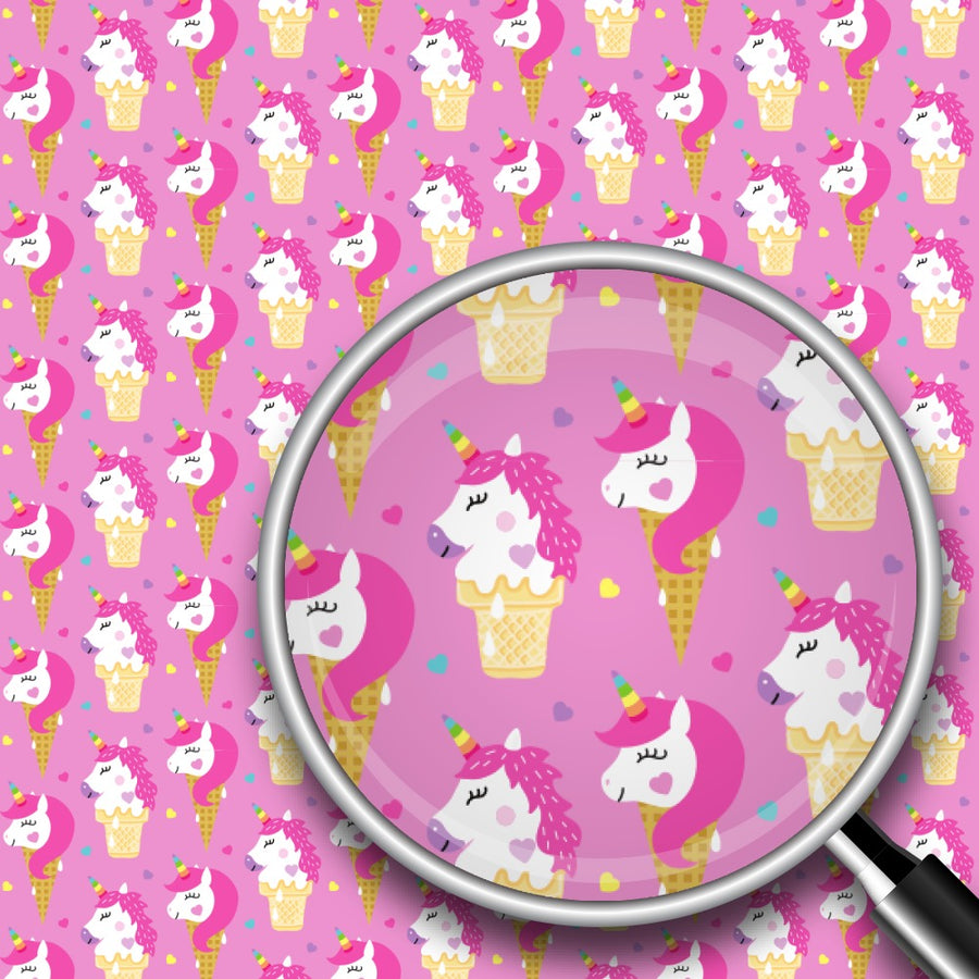 Ice Cream Unicorns Print