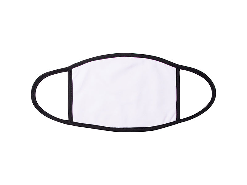 Face Mask - 2 Layer Sublimation Blank w/ white trim