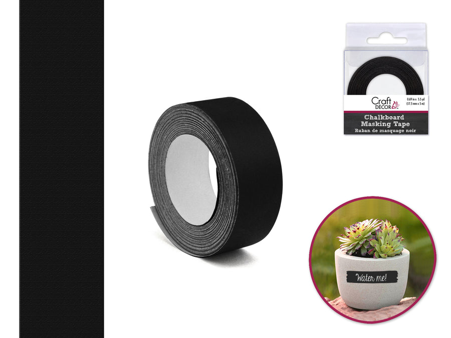 Craft Décor Chalkboard Tape