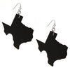Leatherette Texas Earrings-Smooth