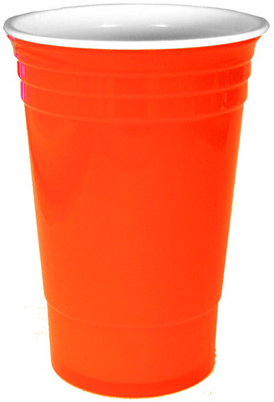 16 oz Blank Stadium Cup with Lid