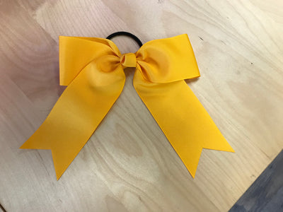 "Cheer Bow 2 1/4""Ribbon with Tails"