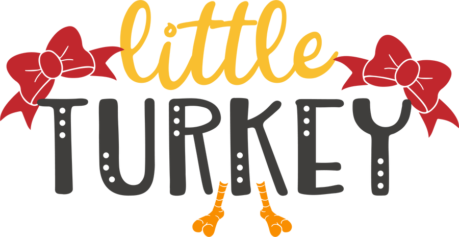 Little Turkey HTV Transfer
